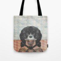 Look Both Ways Tote Bag