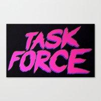 Task Force Canvas Print