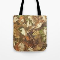 Red-Throated, Black-capp… Tote Bag
