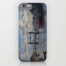 River Thames London waterfall iPhone 6 Slim Case