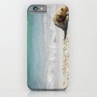 beach dog iPhone 6 Slim Case
