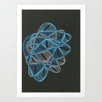 Small Nebula Five Art Print