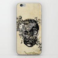 skull crystallisation iPhone & iPod Skin