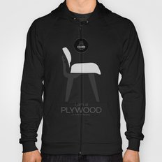Chairs - A tribute to seats: I'm a Plywood (poster) Hoody