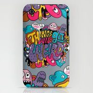 Things Might Get Weird iPhone (3g, 3gs) Slim Case