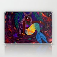 Tropical Mermadia Laptop & iPad Skin