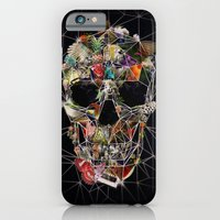 iPhone Cases featuring Fragile Skull by Ali GULEC