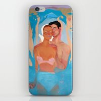 Love is blind iPhone & iPod Skin