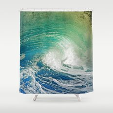 WAVE JOY 2 Shower Curtain