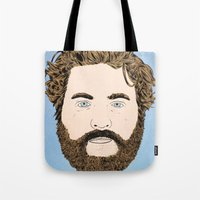 Zach Galifianakis Tote Bag