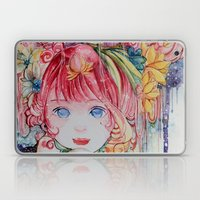 Nadias dream garden Laptop & iPad Skin