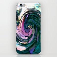 paua spiral iPhone & iPod Skin