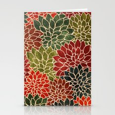 Floral Abstract 7 Stationery Cards