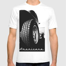 Ready to roll Mens Fitted Tee SMALL White