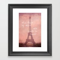 This Heart Was Made To T… Framed Art Print