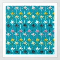 Palm Trees #5 Art Print