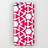 Zoutman Neon Pink Patter… iPhone & iPod Skin