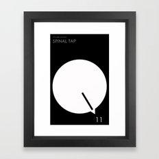 Spinal Tap Framed Art Print