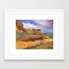 Road to Leyden Framed Art Print