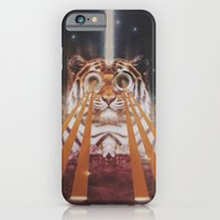 iPhone & iPod Case featuring Tiger Wow by Jesse Rather