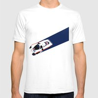 956  Mens Fitted Tee White SMALL