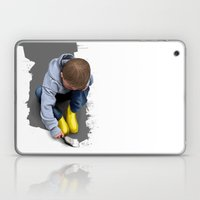 To Live with No Thought for the Future Laptop & iPad Skin