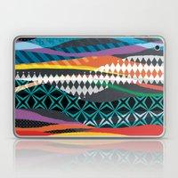 Wave Blaze Laptop & iPad Skin