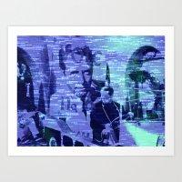 The Prisoner - Be Seeing… Art Print