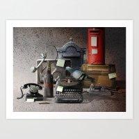 RAT CONTACT Art Print