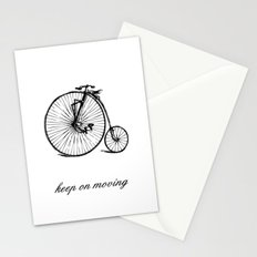 KEEP ON MOVING Stationery Cards
