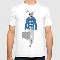 Antilope Mens Fitted Tee White SMALL