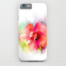 watercolor flower Slim Case iPhone 6s
