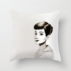 Hepburn Throw Pillow