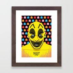 The Yellow Gamer Framed Art Print