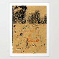 Sedimenti 13 Art Print