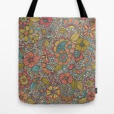 Doodles Garden Tote Bag