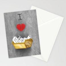 i heart skips Stationery Cards