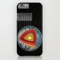 iPhone & iPod Case featuring Earth - Cross Section by Pig's Ear Gear