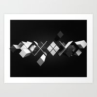 Argyle Deconstruction Art Print