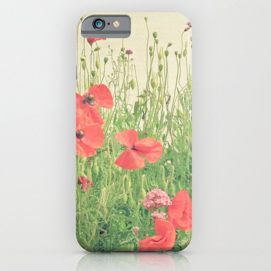Sea of Red iPhone & iPod Case