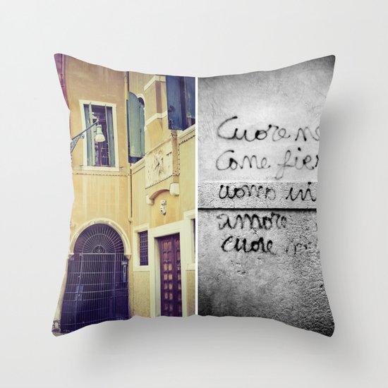 Walls Throw Pillow