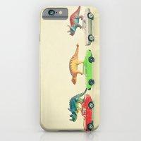 Dinosaurs Ride Cars iPhone 6 Slim Case