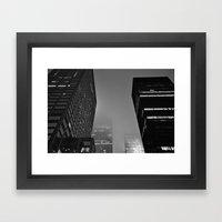 Midnight Noir Framed Art Print