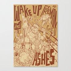 Half Life 2 tribute Canvas Print
