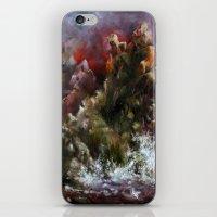 dalgalı deniz iPhone & iPod Skin