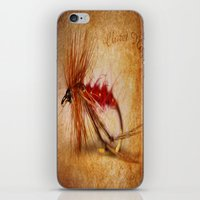 Claret Hopper iPhone & iPod Skin