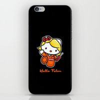 Orange Is The New Cat iPhone & iPod Skin
