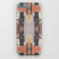 iPhone & iPod Case featuring Geometric urban pattern by Spyros Athanassopoulos