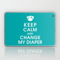 Keep Calm And Change My … Laptop & iPad Skin