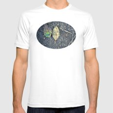 leaf you Mens Fitted Tee White SMALL